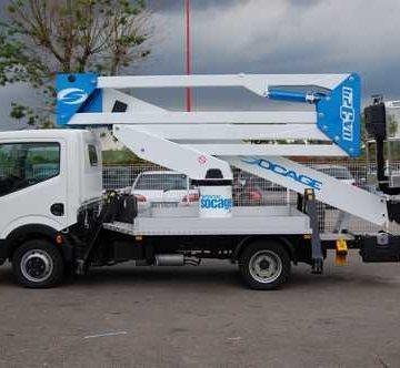 camion nacelle en location access copac